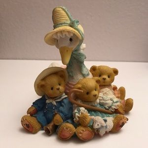 Vintage Retired Cherished Teddies - Mother Goose
